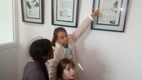 Exposition mangaka à l'école Notre-Dame de Questembert