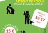 """Mission """"Argent de poche"""" 2021"""